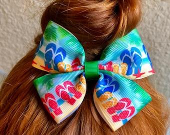 7ac66dc88 Flip flops hair bow