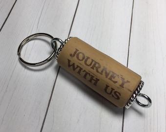Porte-clef Liège - «Voyage avec nous» espoirs fin vin