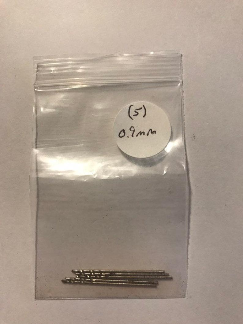 0.9mm HSS Twist Drill Bits for Dremel 5pack