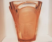 1934 Art Deco Vase, Walther Shone, Made in Germany, Three Face Vase