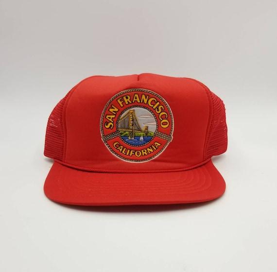 Vintage 1980s San Francisco California Trucker Hat