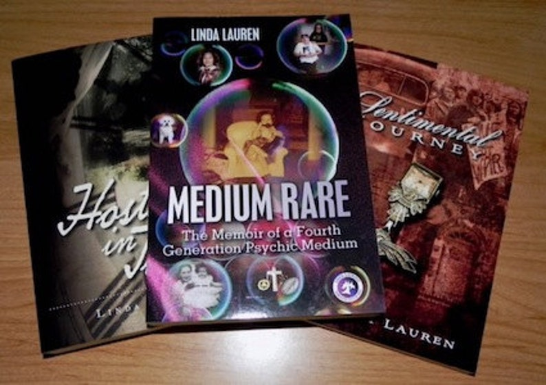 3 Book Gift Pack Signed by Linda Lauren image 0