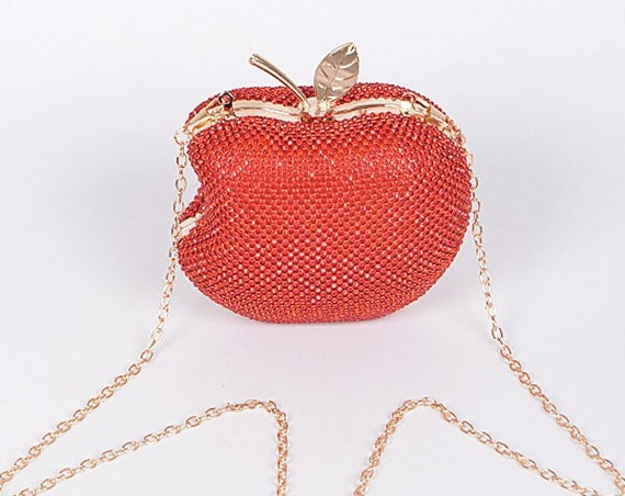 Bright Apple Clutch