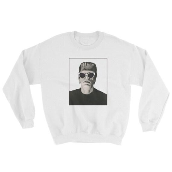Frankenstein crewneck sweater, halloween sweater,