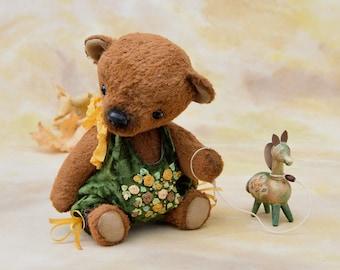 Artist teddy bear, OOAK. Oliver.