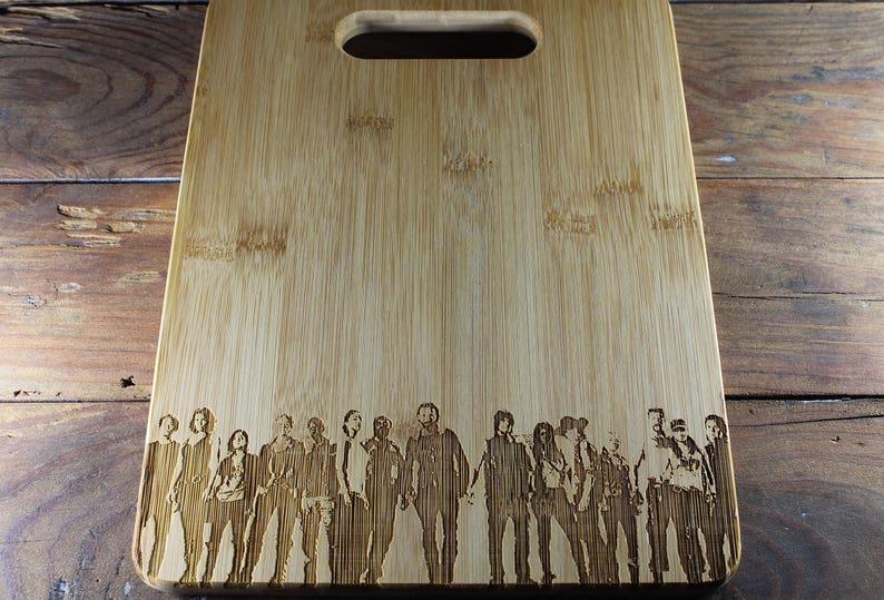 The Walking Dead Cutting Board Daryl Dixon Rick Grimes image 5