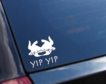 Avatar The Last Airbender Appa Yip Yip Car Decal