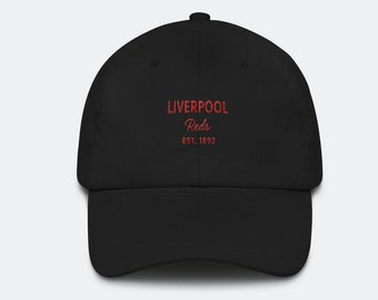 805fc9e06e4 Liverpool FC Inspired Hat - Dad Cap