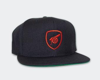 24353ff6f71 Arsenal FC Cannon Snapback Hat Unisex Premier League Soccer Fan Gift