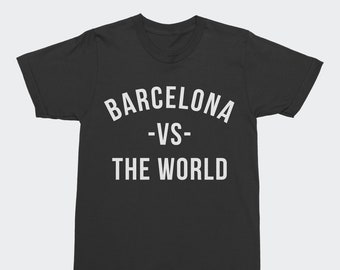 798553d1c66 Barcelona VS The World T-Shirt - FC Barcelona La Liga t-shirt