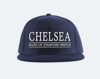 ad5c80d7de3 Chelsea FC Collegiate Snapback Hat Premier League Soccer Fan Gift