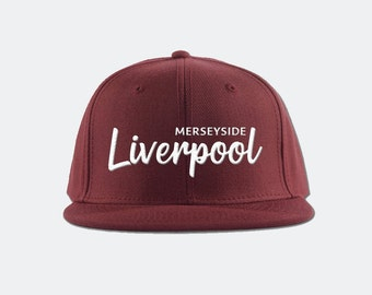 cc1d7613405 Liverpool FC Snapback Hat - Premier League soccer football snapback hat