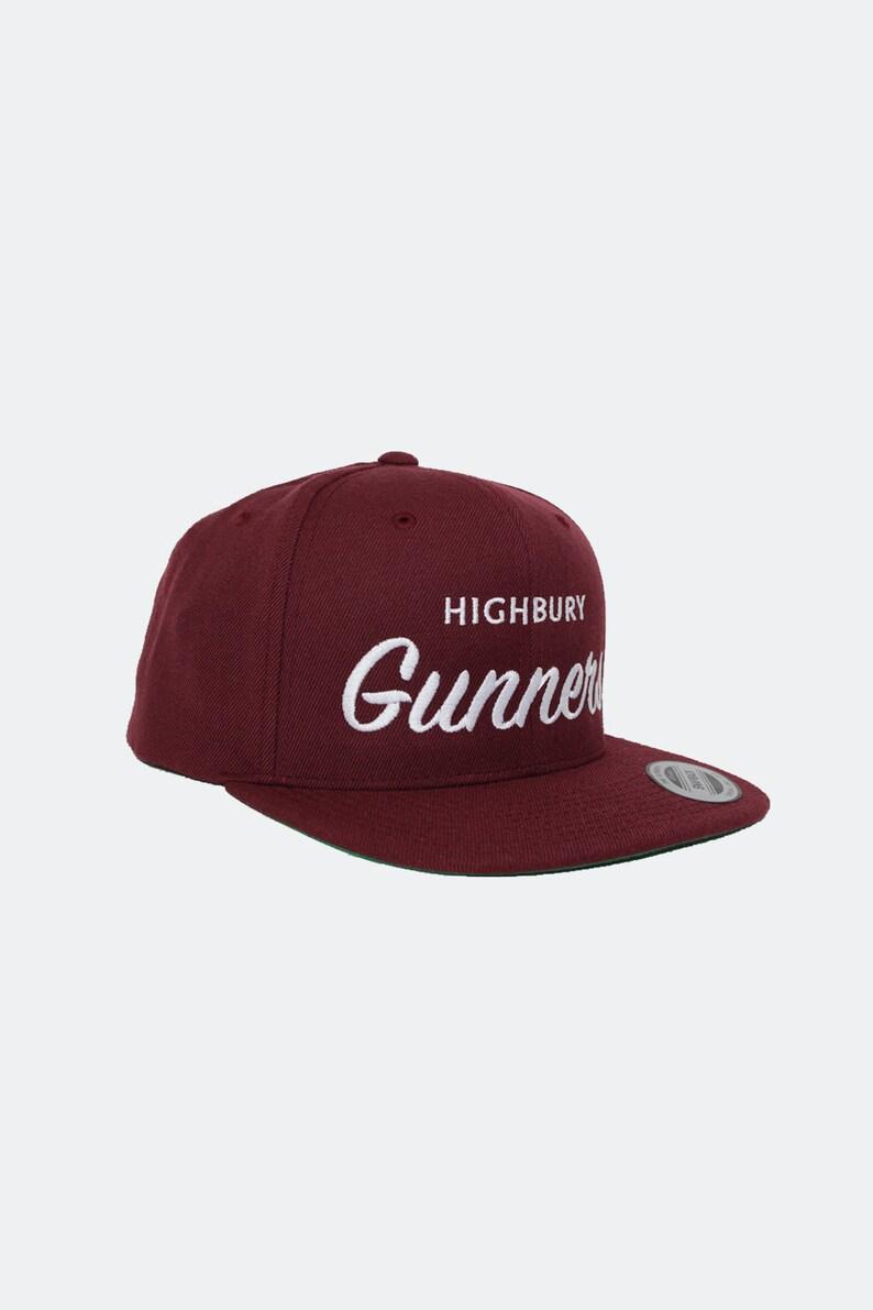 90e5feba2d1 Arsenal FC Snapback Hat Highbury Gunners Premier League