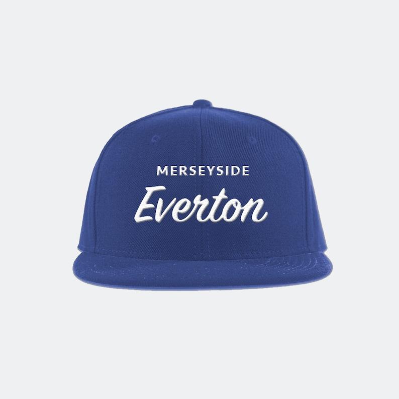 Everton FC Classic Snapback Hat Premier League soccer  90e60ba1f1c7