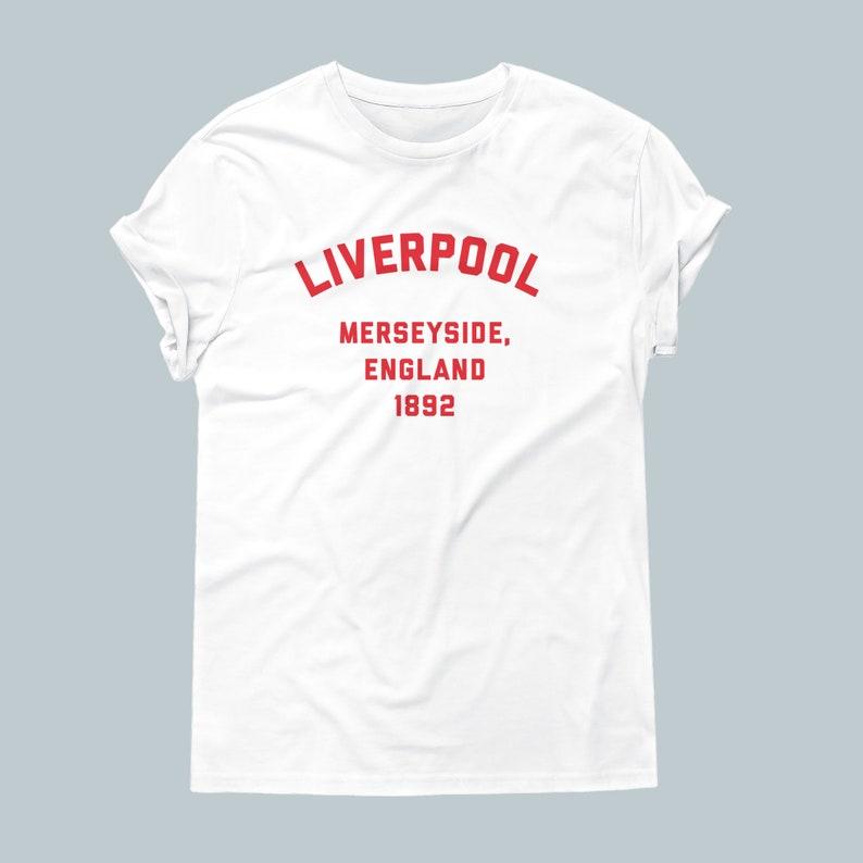 d38af103a12 Liverpool FC Team Unisex / Men's T-Shirt | Etsy