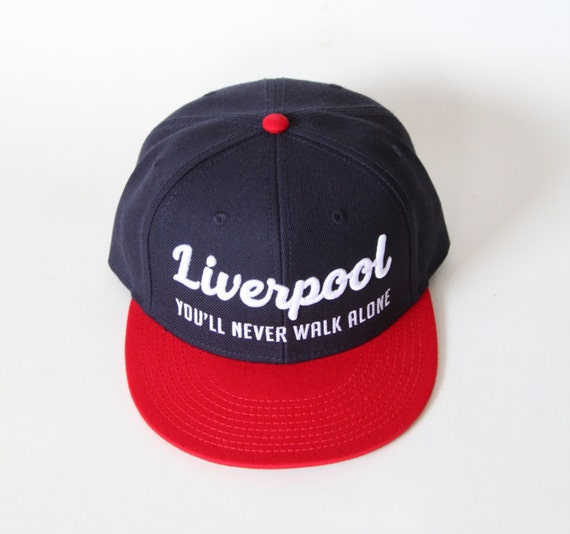 Liverpool FC Snapback Hat You ll Never Walk Alone  a0ab820800d