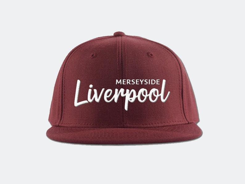0f14d53d015 Liverpool FC Snapback Hat Premier League soccer football