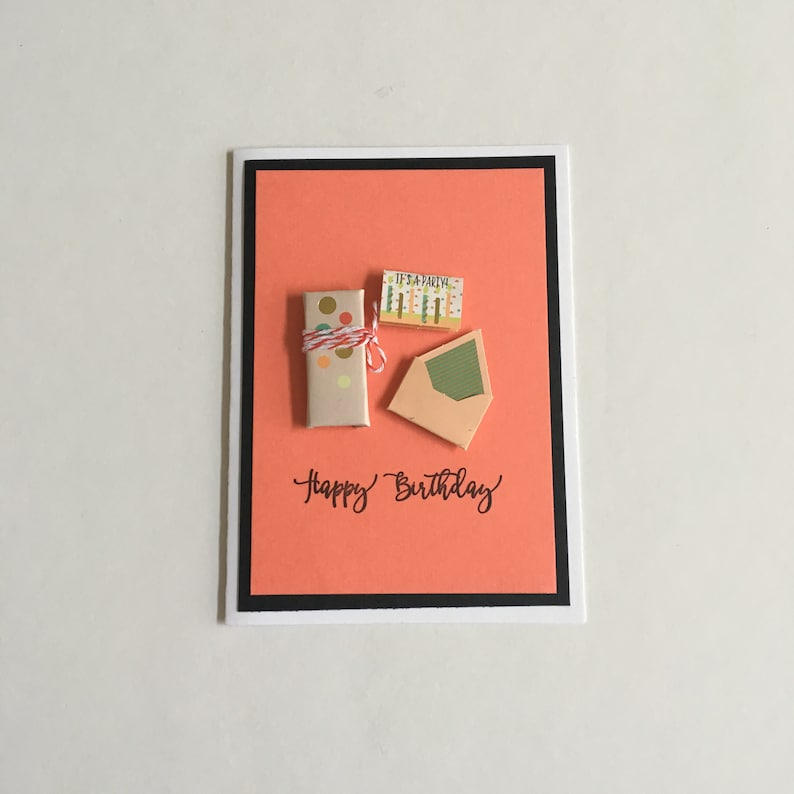 Handmade Happy Birthday Gifts Birthday Card Etsy