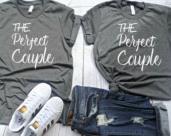 Couples shirts- matching couples shirts- mr and mrs shirt- honeymoon shirt- his and her shirts- bride and groom shirt- just married shirts