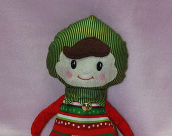 Elf Doll - Super Cute Christmas Elf Doll - Boy Elf Doll - Baby Safe