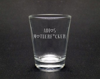 adios shot glass divorce glass divorce party breakup gift divorce gift for her goodbye gift moving gift graduation gift