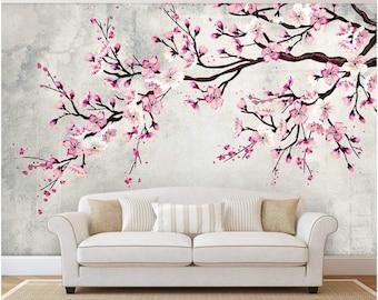 Blossom Wallpaper Etsy