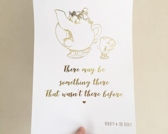 Belle Quote Decal Etsy