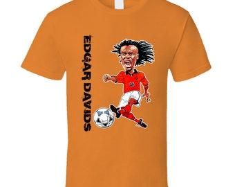 Edgar Davids Netherlands Holland Soccer T Shirt 71d169eb1