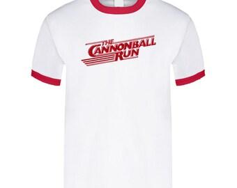 3677504a942 Cannonball Run 80s Movie T Shirt