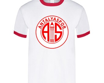 ead027f9 Antalyaspor Turkish Soccer Team Football Club Super Lig Turkey T Shirt