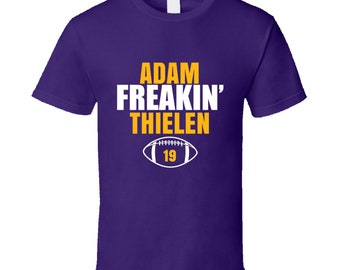 check out ec0a4 487e8 Adam thielen | Etsy