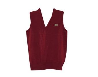 Vintage LACOSTE Vest