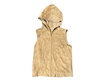 90s Fluffy Hoodie Vest