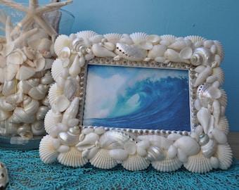 Seashell Frame Etsy