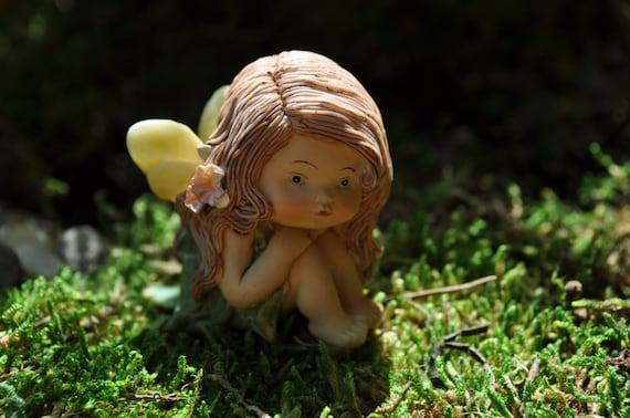 Fairy BabyFairy Garden MiniatureFairy Garden StatueFairy | Etsy