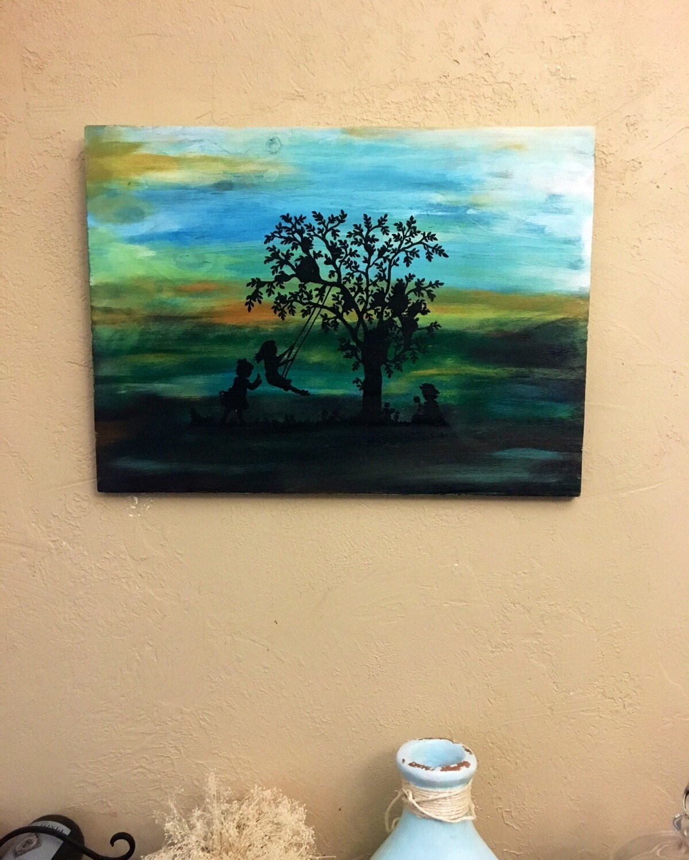 Wall Art \'Catch The Wind\' Wooden Wall Art | Etsy