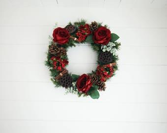Ferris Heart Sloane Christmas Wreath