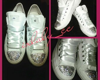 3234d46537ee White bling Shoes