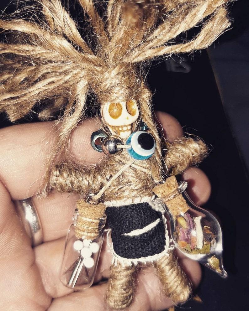 Real Voodoo Doll Wrapped Voodoo Doll Voodoo Doll Kit ...