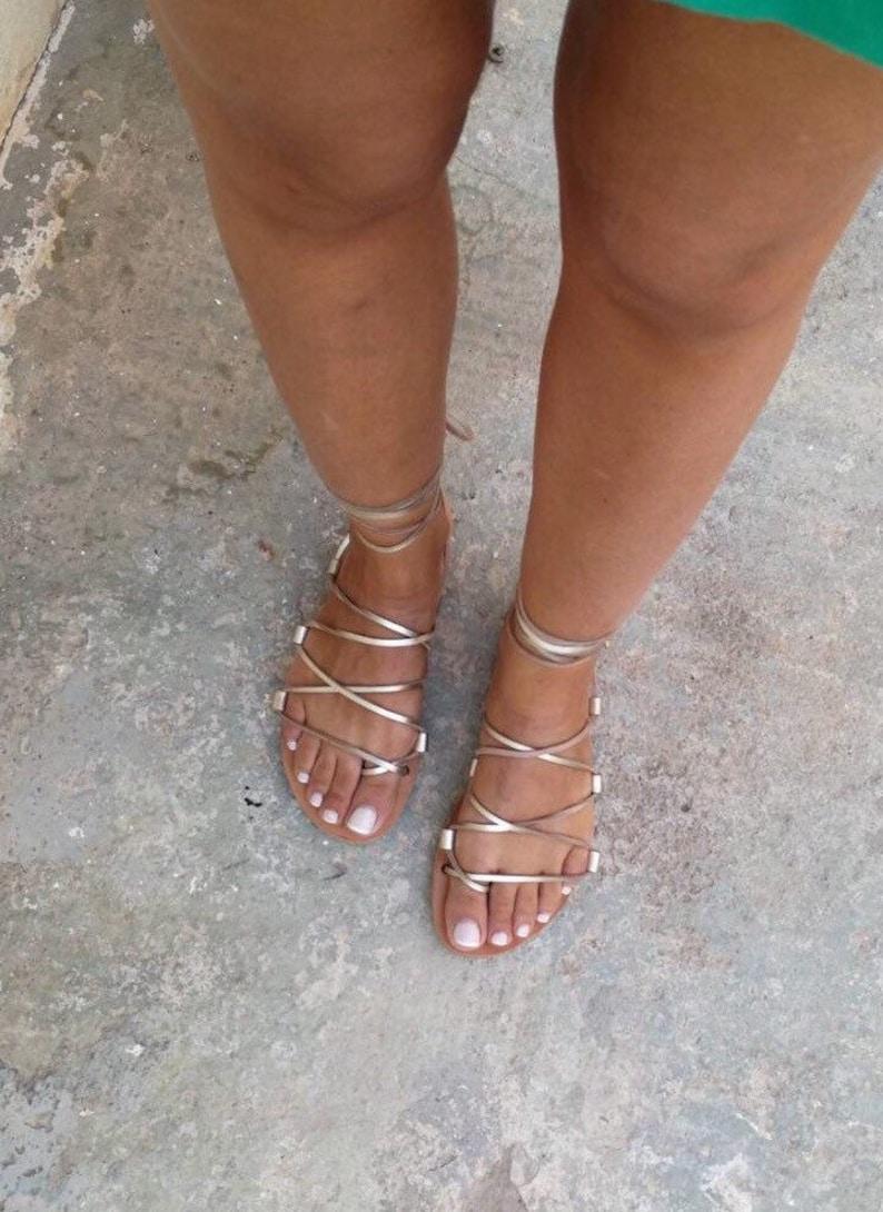 6de67f34bb012 Tie up Greek sandals, Gold Gladiator Sandals, Leather Sandals, Flat  Sandals, Handmade, Women sandals, Lace up, Summer Sandals, Real Leather