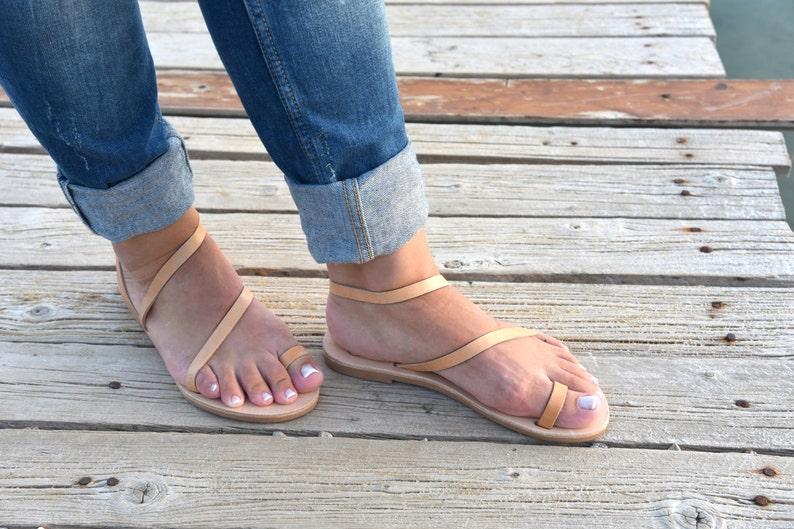 12b31a12c28a Greek leather sandals Women Leather Sandals Wedding sandals