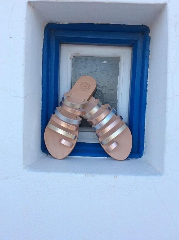 Leather Sandals Gold Greek Sandals gladiator Wedding gladiator Sandals Greek Greek Handmade Gold sandals Sandals Beach Flats sandals ZOOdxr