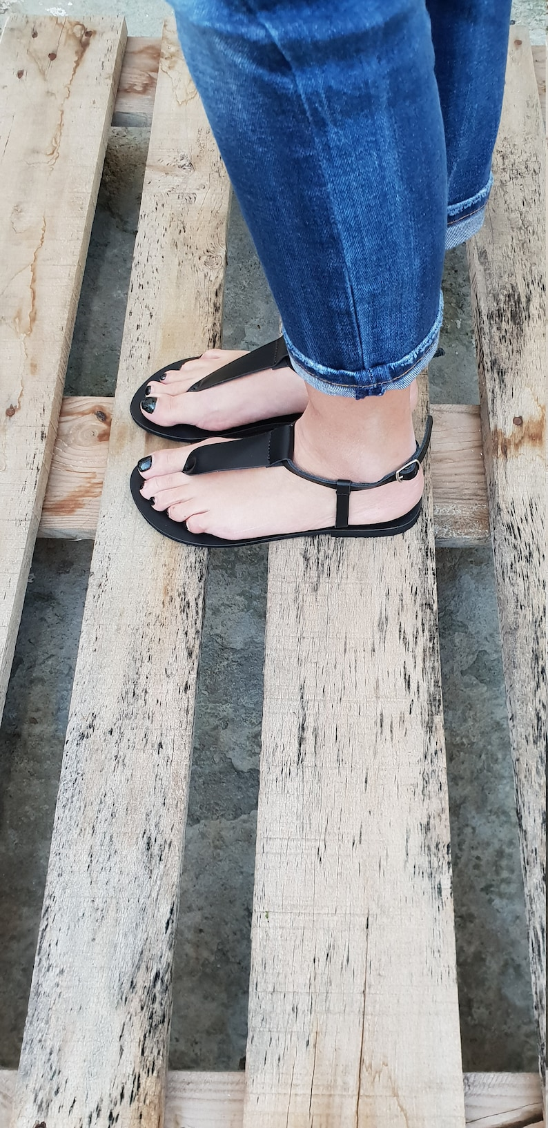 Summer leather flats for women Ankle Strap summer Sandals Ankle strap flats T-strap Greek Leather Sandals Handmade Greek Gladiator Flats