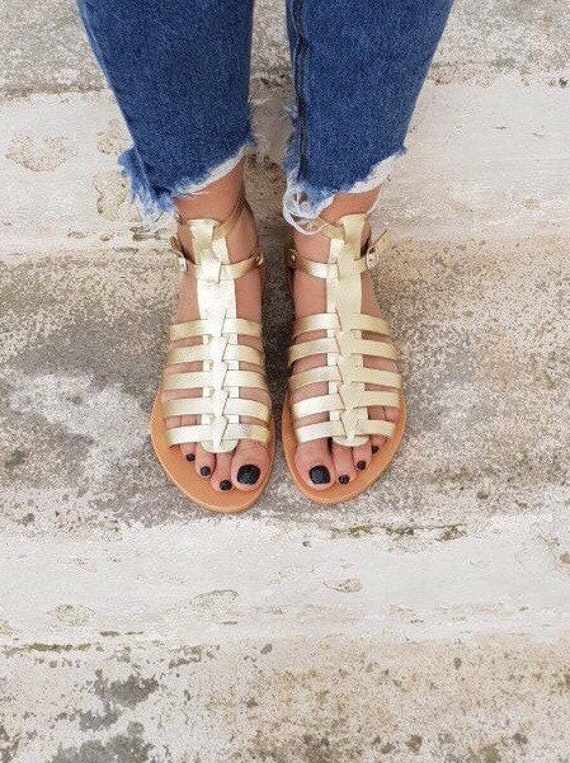 Details about Clarks Tan Brown Genuine Leather Strappy Gladiator Sandals Shoes Womens Uk 3