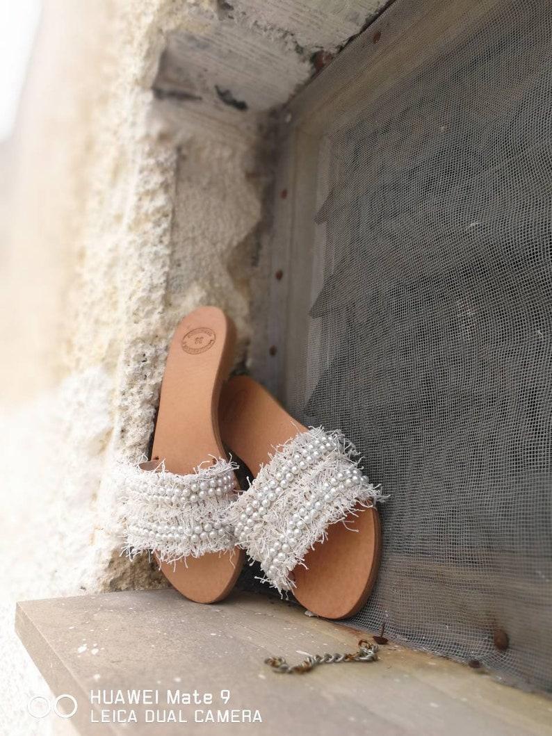 Leather Sandals Greek Sandals,Wedding Sandals Leather flats,Handmade,mules Summer Flats Roman Sandals Women/'s Sandals Slip on Sandals