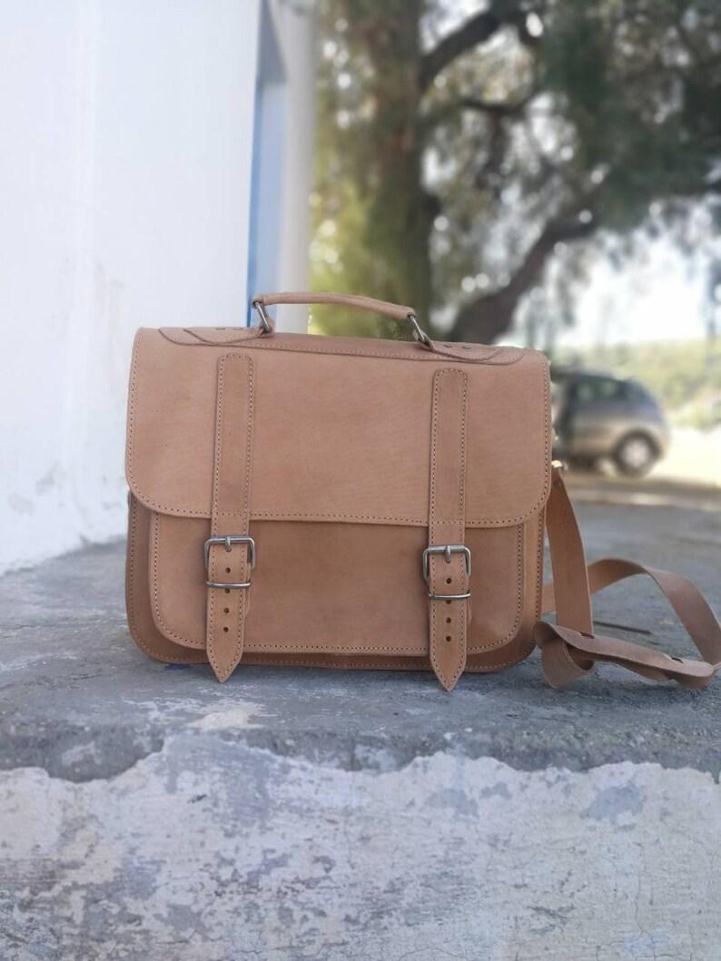 378a24c0c51 Messenger Bag Leather Briefcase Laptop Leather Bag Courier