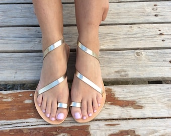 Greek Sandals, Gladiator Sandals,Gold Sandals, Gold Leather Sandals, Leather Sandals, Strappy Sandals, Summer Sandals, Gold Wedding sandals,