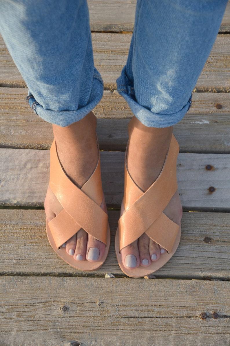 38e6664f381f Greek Leather Sandals Gladiator Sandals Ancient Black
