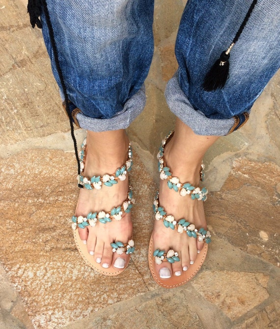 5d1c56524 Handmade Wedding sandals Greek Sandals Leather Sandals