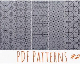 da8676c64 Patterns instant download Bobbin lace PDF Background Grilles Russian Lace #  2 Set of 5 pcs PDF format Lacemaking Full size